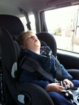 Shattered - Not even the traffic lights could keep him awake